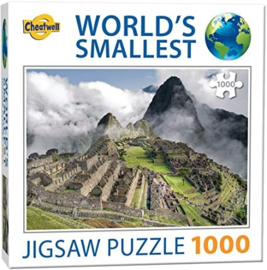 TFF World's Smallest - Machu Picchu - 1000 stukjes  Minipuzzel