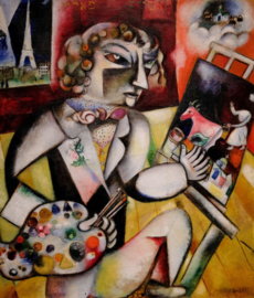 Piatnik Mac Chagall - Self Portait with Sven Fingers - 1000 stukjes