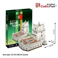 Cubic Fun 3D - Belem Tower - 46 stukjes