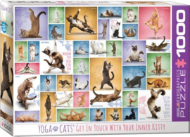 Eurographics 0953 - Yoga Cats - 1000 stukjes