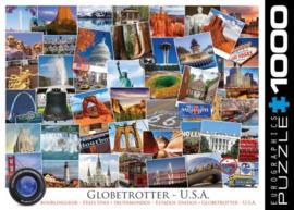 Eurographics 0750 - Globetrotter USA - 1000 stukjes