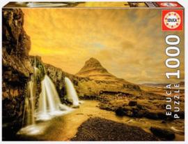 Educa - Kirkjufellsfoss Waterfall, Iceland - 1000 stukjes
