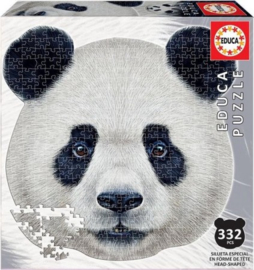 Educa - Pandakop - 332 stukjes  Vormpuzzel
