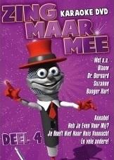 Zing Maar Mee Karaoke dvd  deel 4