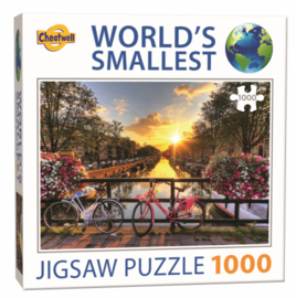 TFF World's Smallst - Amsterdam - 1000 stukjes  Minipuzzel