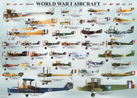 Eurographics 0087 - World War I Aircraft - 1000 stukjes