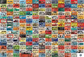 Eurographics - The VW Groovy Bus - 2000 stukjes