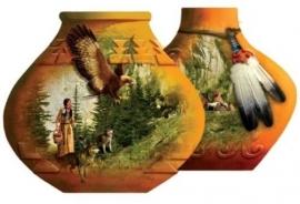 SunsOut 95429  Indian Pots  1000 stukjes  Vormpuzzel
