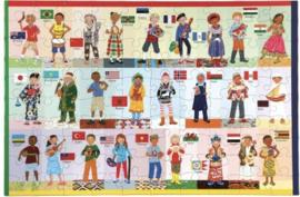 eeBoo - Children of the World - 100XXL stukjes