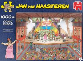 Jan van Haasteren - Eurosong Contest - 1000 stukjes