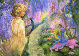 Grafika Josephine Wall - Wisteria Way - 1500 stukjes