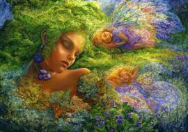 Grafika Josephine Wall - Moss Maiden - 1500 stukjes