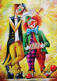 Art Puzzle - The Musician Clowns - 260XL stukjes