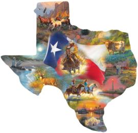 Sunsout 95030 - Images of Texas - 1000XL stukjes  Vormpuzzel