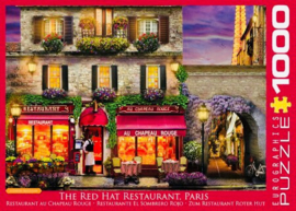 Eurographics 0963 - The Red Hat Restaurant Paris - 1000 stukjes