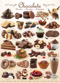 Eurographics 0411 - Chocolate - 1000 stukjes