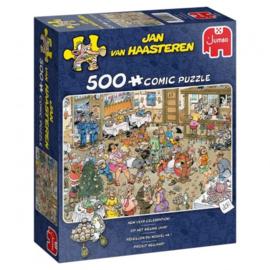 Jan van Haasteren - Op Het Nieuwe Jaar! - 500 stukjes