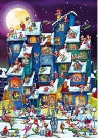 D-Toys - Christmas Mess - 1000 stukjes