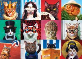 Eurographics - Funny Cats - 1000 stukjes