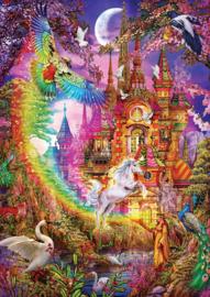 Art Puzzle - Rainbow Castle - 500 stukjes