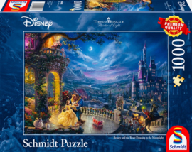 Disney Thomas Kinkade - Belle en het Beest - 1000 stukjes