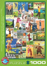 Eurographics 0933 - Golf Around the World - 1000 stukjes