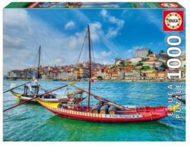 Educa - Barcos Rabelos, Porto - 1000 stukjes