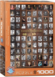 Eurographics 0249 - Famous Writers - 1000 stukjes