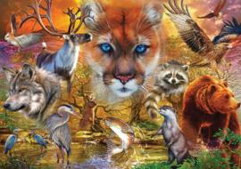 KS - North American Animals - 1000 stukjes