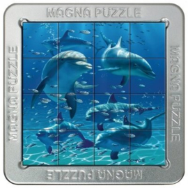 TFF 3D Magna Puzzle Small - Dolphins - 16 stukjes