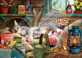 Gibsons 6248 - Snoozing in The Shed - 1000 stukjes