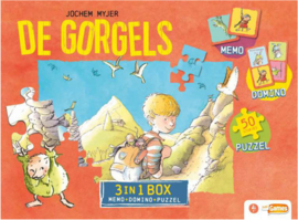 Just Games - Gorgels - 3-in-1 Box