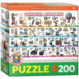 Eurographics 0724  - Inventors and their Inventions 200XL stukjes