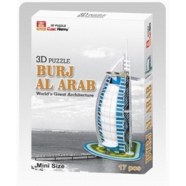 Cubic Fun 3D - Burj Al Arab (mini) 17 stukjes