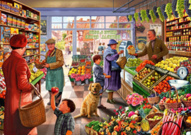 Bluebird - Village Greengrocer - 1000 stukjes