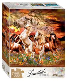 Step - Zoek de 12 paarden - 1000 stukjes