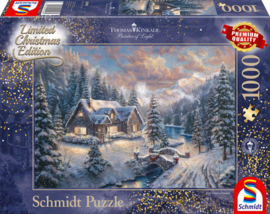 Thomas Kinkade - Christmas in the Mountains - 1000  Limited