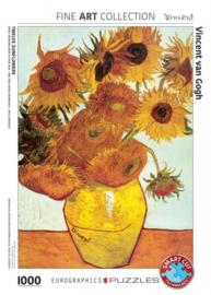 Eurographics Vincent van Gogh - Twelve Sunflowers - 1000 stukjes