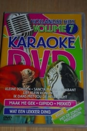 DVD 5284      Karaoke Hollandse hits  deel 7
