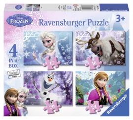Ravensburger Disney Frozen 12-16-20-24 stukjes