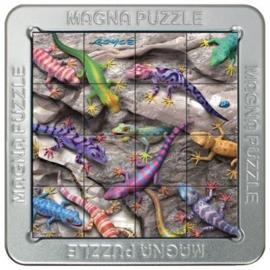 TFF 3D Magna Puzzle Small - Geckos - 16 stukjes