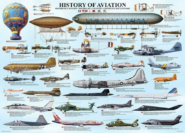 Eurographics 0086 - History of Aviation - 1000 stukjes