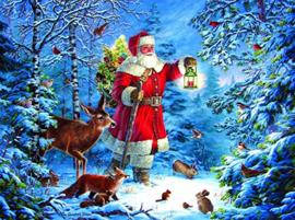 SunsOut 59770 - Wilderness Santa - 1000 stukjes