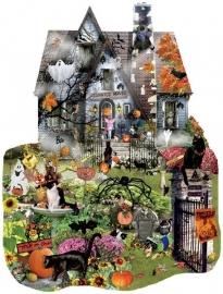 SunsOut 95615 - Spooky House - 1000 stukjes  Vormpuzzel