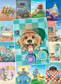 Eurographics 5365 - Dog's Life - 500XL stukjes
