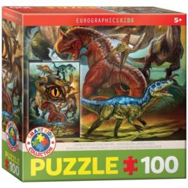 Eurographics 0359 - Carnivorous Dinosaurs - 100XXL stukjes