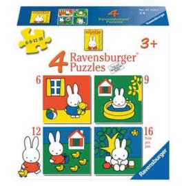 Ravensburger - Nijntje - 6/9/12/16 stukjes
