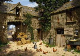 Wentworth - Farmyard Scene - 40 stukjes  (Edward Hersey)   OP=OP
