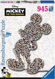 Ravensburger Disney - Shaped Birthday Mickey - 945 stukjes  Vormpuzzel