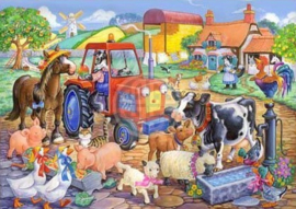 House of Puzzles - Farm Friends - 80XL stukjes